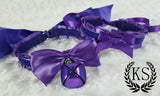 Purple Stuffie Collar Set