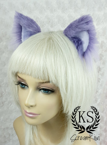 Lavender Trimless Scream Kiwi Ears
