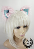 Pink and Blue Magnetic Bows Lavish Ears