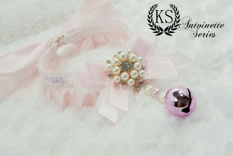 Pink Sparkle Jeweled Antoinette Collar