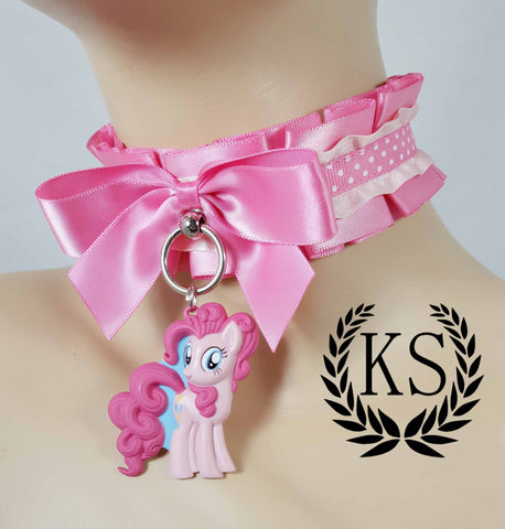 PinkiePie 2D Thick Collar