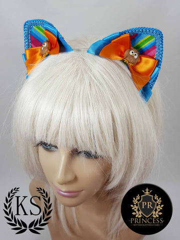 Hoot Hoot Furless Patterned Princess Ears