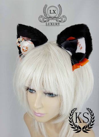 BB8 Leopard Luxury Ears
