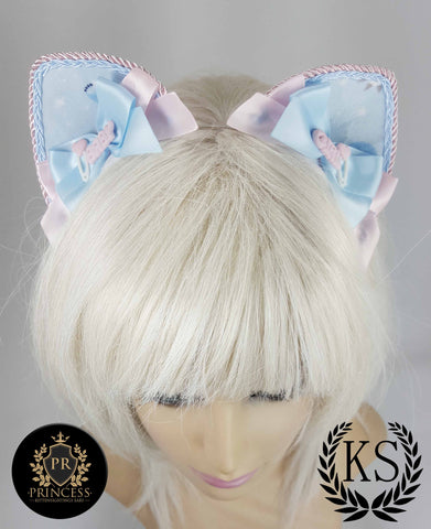 Baby Girl Furless Patterned Princess Ears