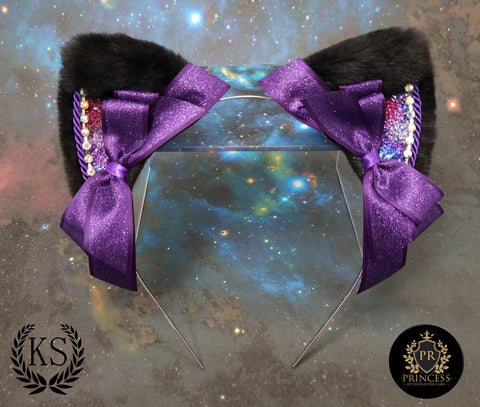 Glitter Galaxy Princess Ears