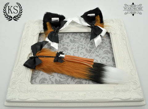 Fox Princess Ear and Tail Set