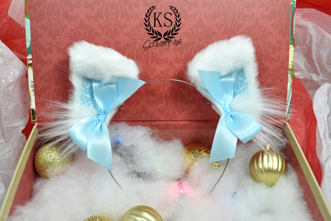 Light Blue Baroque ScreamKiwi Ears
