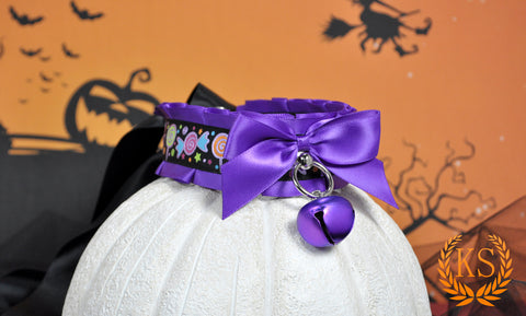 Tick or Treat Thick Collar