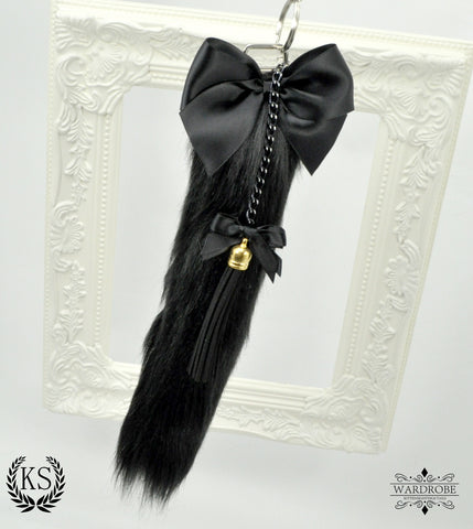 Black Long Wardrobe Tail