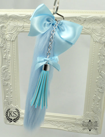 Light Blue Long Wardrobe Tail