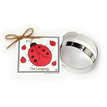 Ladybug Cookie Cutter w/ Recipe Card