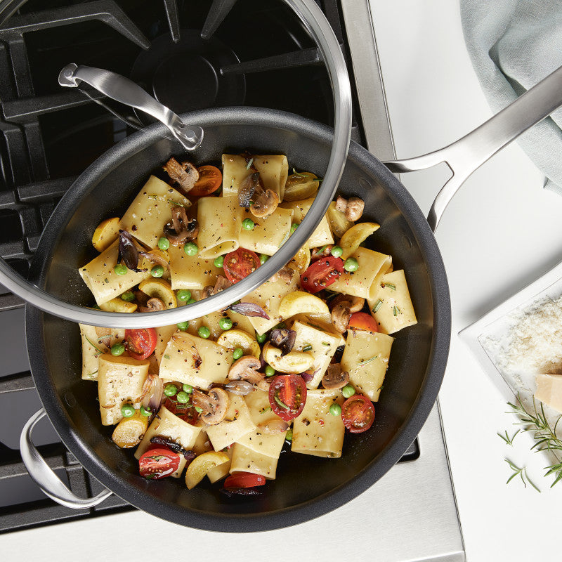 "Anolon Allure 13.75"" Covered Skillet"