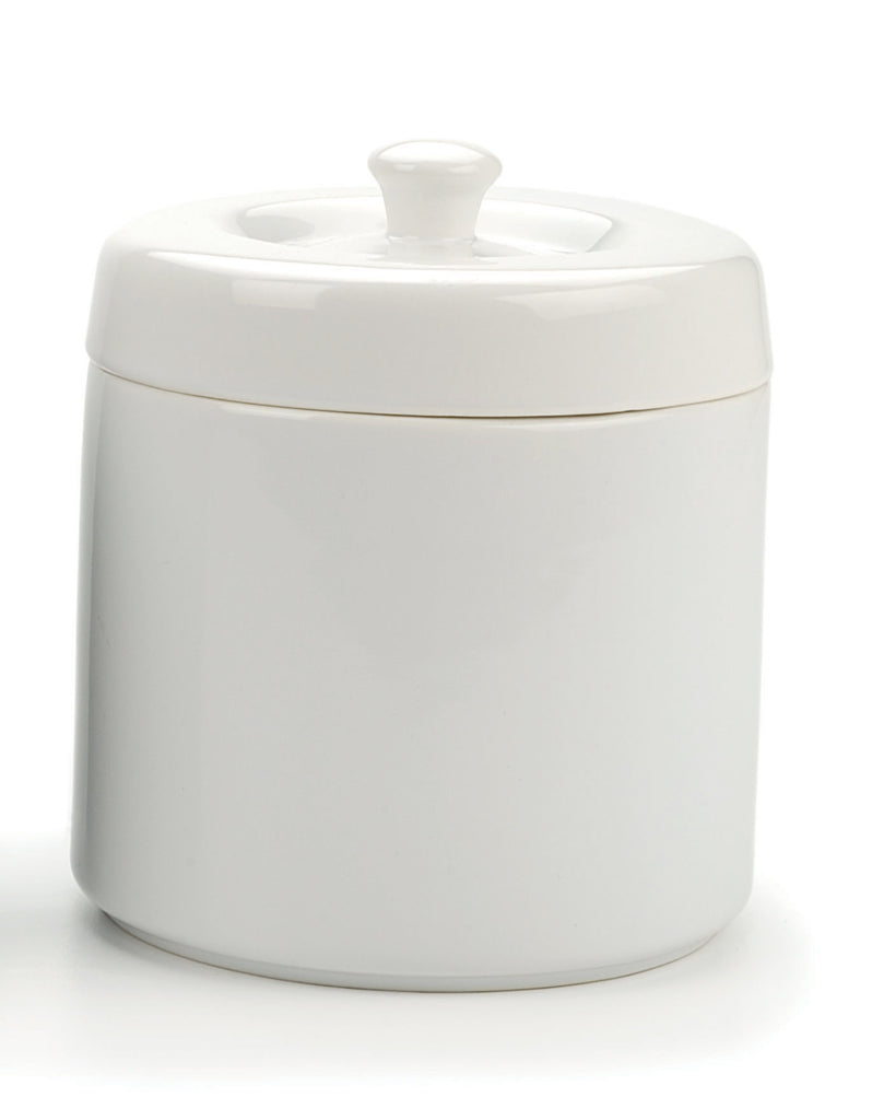 Ceramic Grease Keeper-White