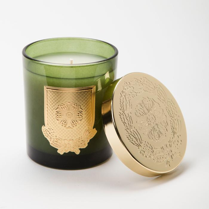 Lux Bitter Orange and Evergreen Candle