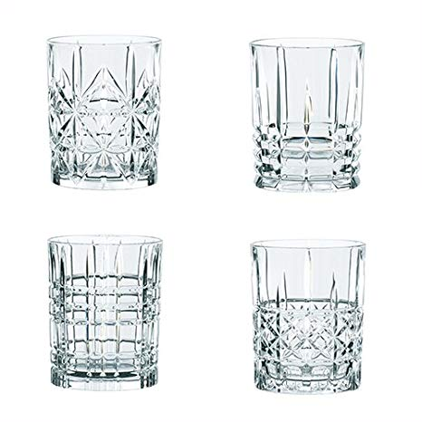 Highland Whiskey Tumblers - Set/4