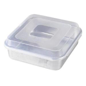 Square Cake Pan with Lid - 9 x 9 inches