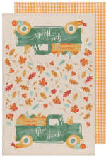 Tea Towel Autumn Harvest