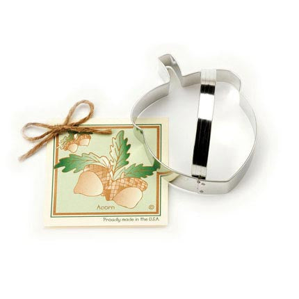 Acorn Cookie Cutter w/ Recipe Card