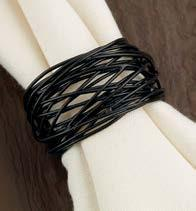 Black Bird Nest Napkin Ring