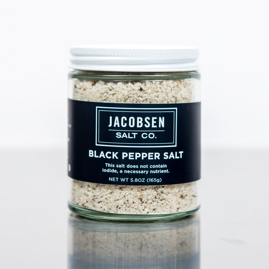 Black Pepper Infused Salt