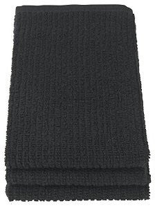 Black Barmop Towels - Set of 3