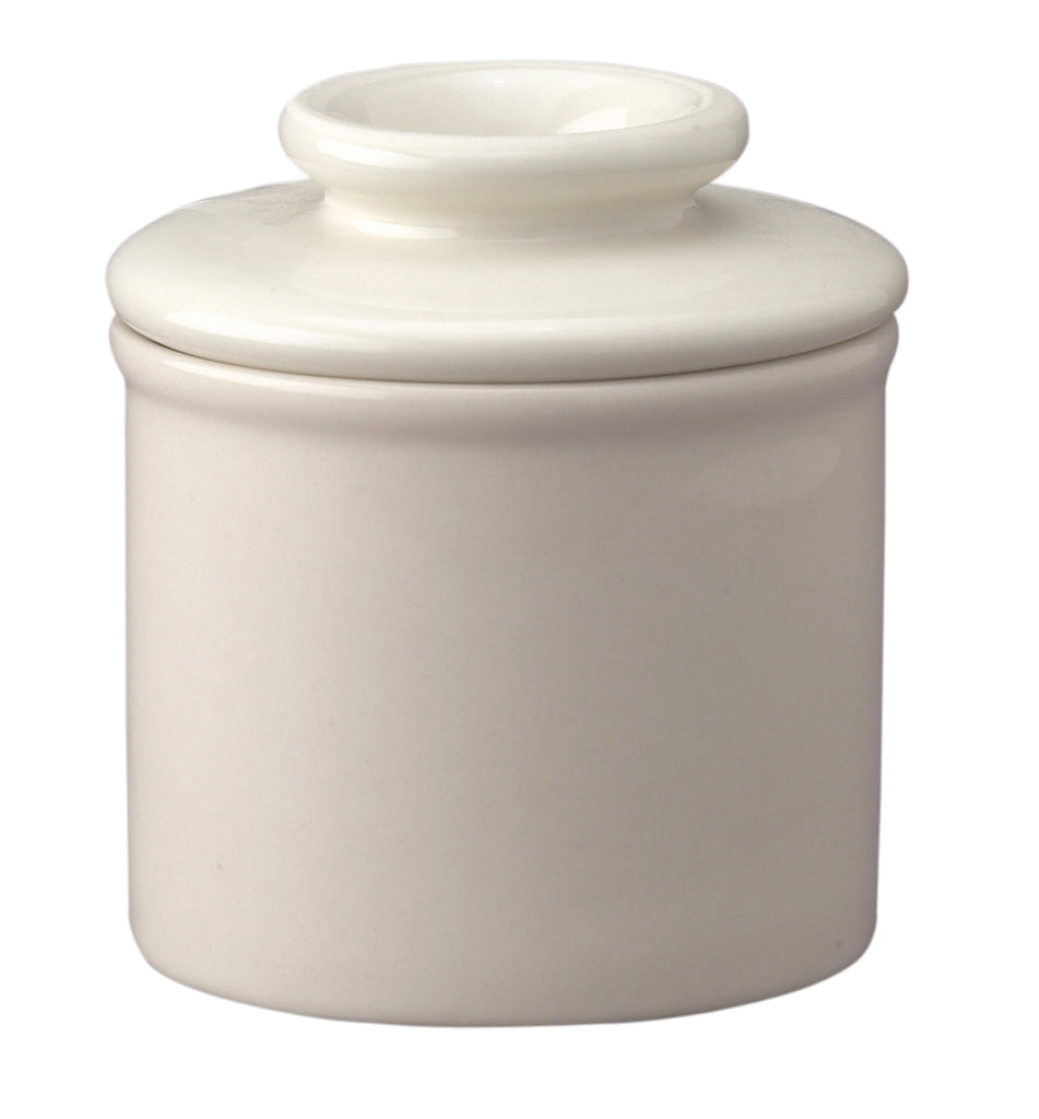 Cream Butter Bell Crock