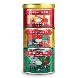 Holiday Stackable Trio Tea