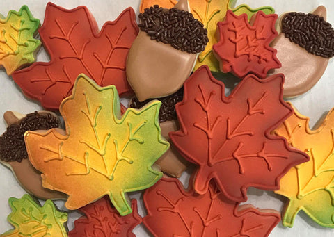 Wishing for Fall Cookie Decorating Class - Class #1