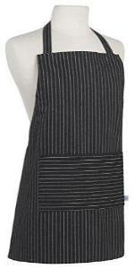 Junior Black Pinstripe Apron