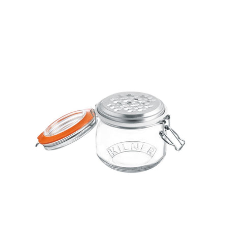 Clip Top Jar With Grater