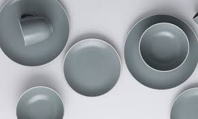 Classic Collection Dinnerware Gray