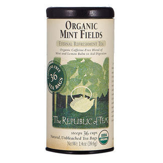 Organic Mint Fields Herbal Tea