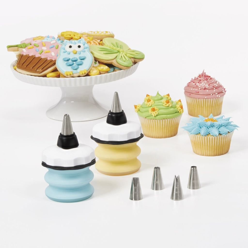 OXO Baker's 8 Pc Decorating Bottle Kit