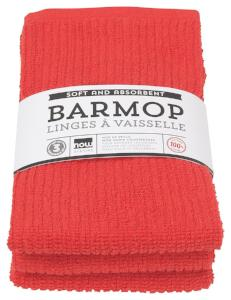 Red Barmop Set/3