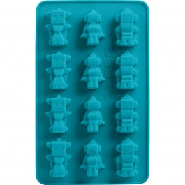 Robot Chocolate Molds Set