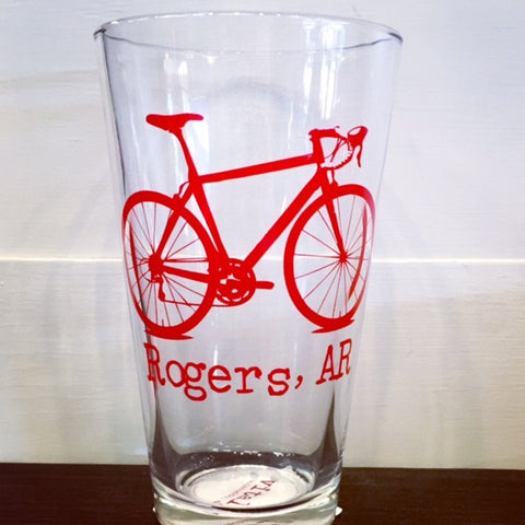 Rogers, AR - Name Drop Pint Glass