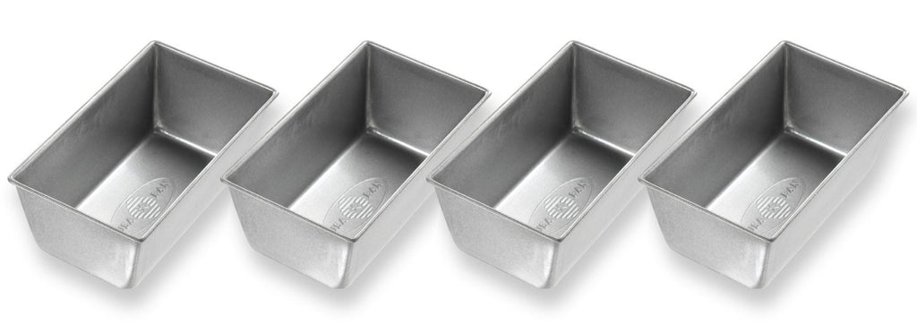 USA Pan Mini Loaf Pans - Set/4