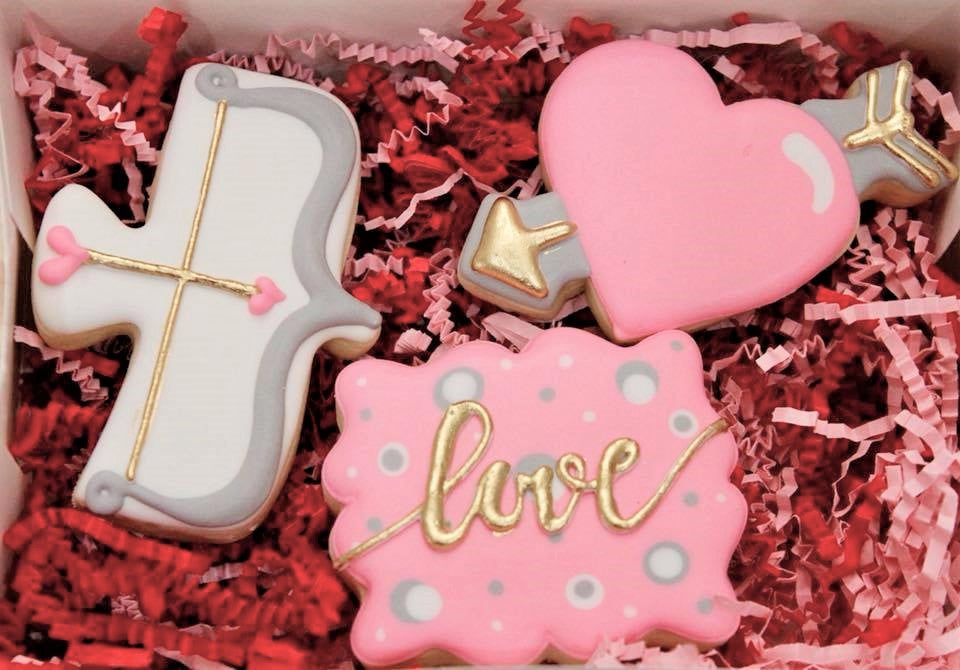 Valentine's Cookie Decorating #2: Feb. 5th