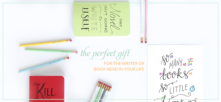 IceyDesigns Bookish Stationery