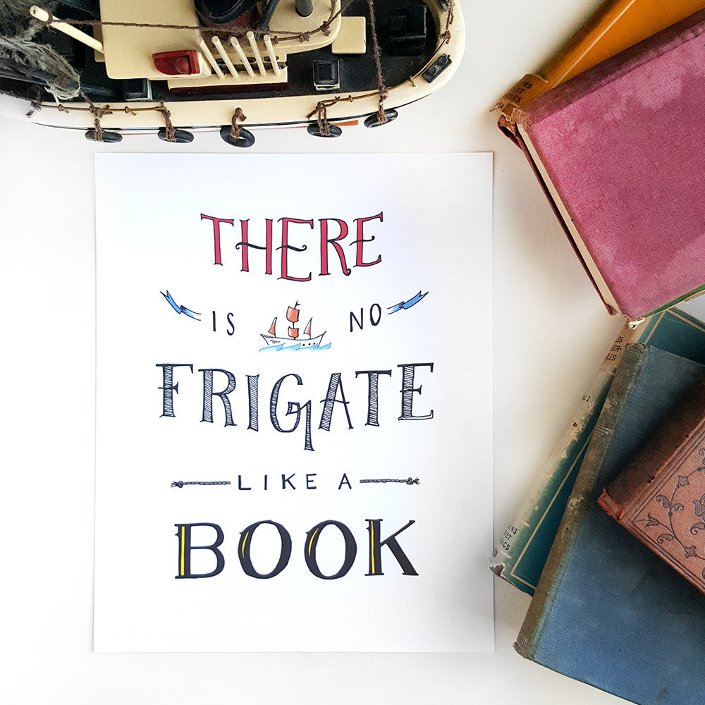 No Frigate Like a Book