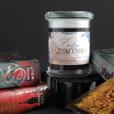 Zoya Nazyalensky // King of Scars by Leigh Bardugo // 8oz Jar Scented Soy Candle
