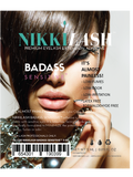 NIKKILASH BADASS SENSITIVE Eyelash Extension Adhesive Has Low-Fume, Low-Odor and Low-Irritating Glue