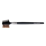 B030BkSL = K030 Brow Comb Brush Angled (black)