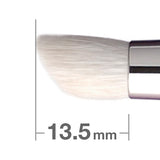 B125BkSL = J125BkSL Eye Shadow Brush Round & Angled [H3096]