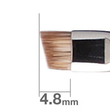B163BkSL Eye Brow Brush angled [H3121]
