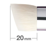 G5552BkSL-4mm Powder & Liquid Brush round/angled [H3933]