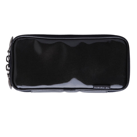 Po810Bk Enamel brush pouch - Black [H3472]