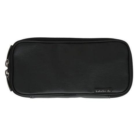 Po810BkM Brush Pouch - Matte Black [H4108]