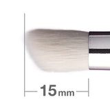 J122RBkSL Duo Fibre Eye Shadow Brush Round & Angled [H3864]