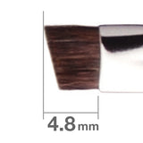 J163HSBkSL Eyebrow Brush Angled [H3854]